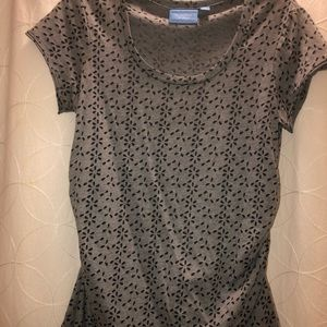 Excellent Condition Simply Vera Wang Cutout Tee, M